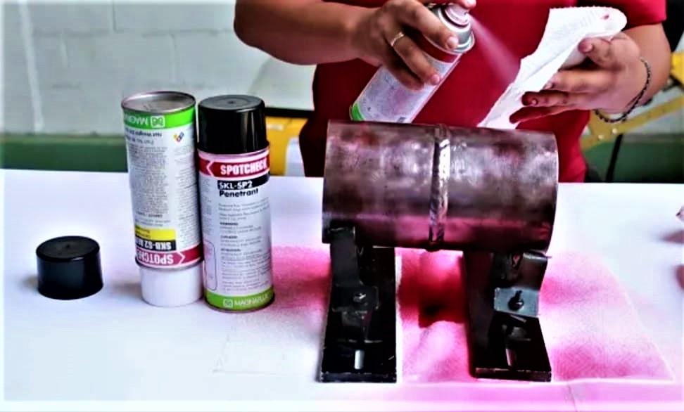 Inspeccion de Liquidos Penetrantes